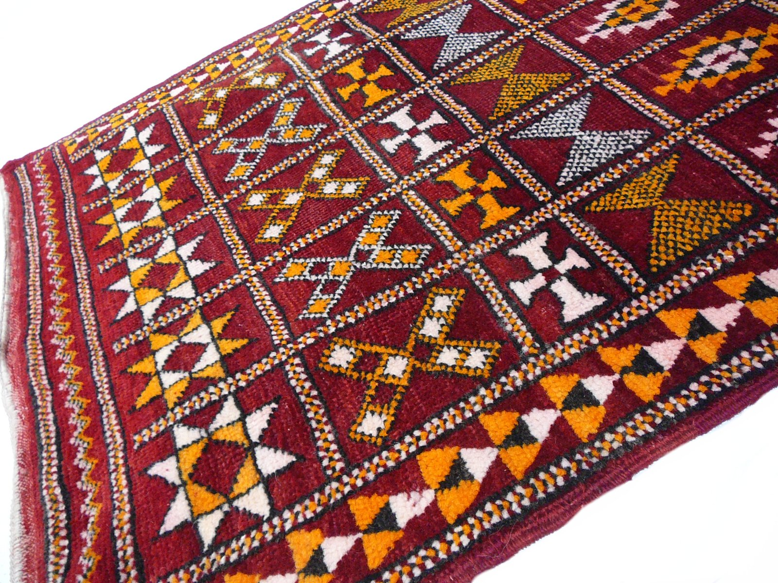 Vintage Moroccan Zemmour Berber Rug For Sale At Pamono
