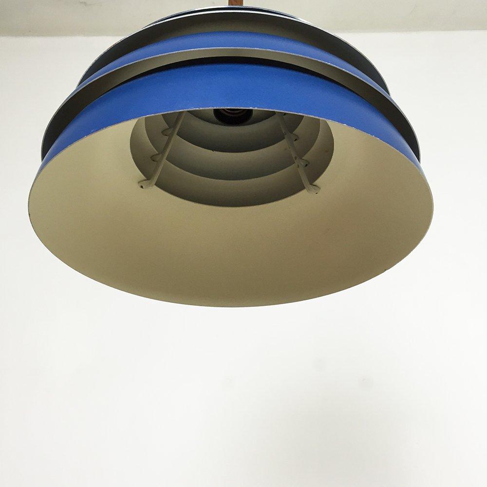 blue pendant light by hans agne jakobsson for hans agne. Black Bedroom Furniture Sets. Home Design Ideas