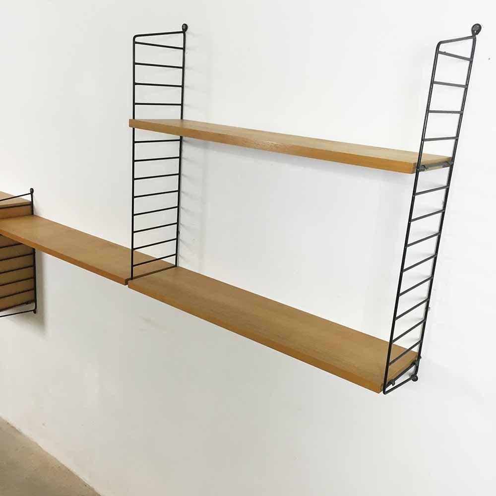 mid century regal von nisse strinning f r string furniture bei pamono kaufen. Black Bedroom Furniture Sets. Home Design Ideas