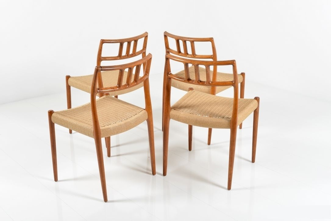 Model 79 Dining Chairs By Niels O M Ller Set Of 4 For Sale At Pamono