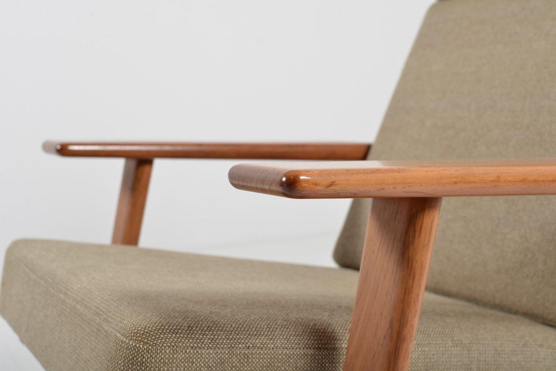GE 290 Teak Lounge Chair by Hans J Wegner for Getama