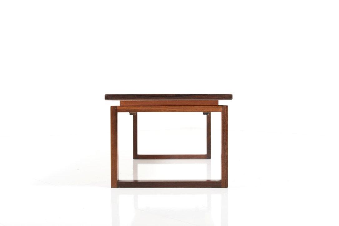 mid century palisander beistelltisch 1960er bei pamono kaufen. Black Bedroom Furniture Sets. Home Design Ideas