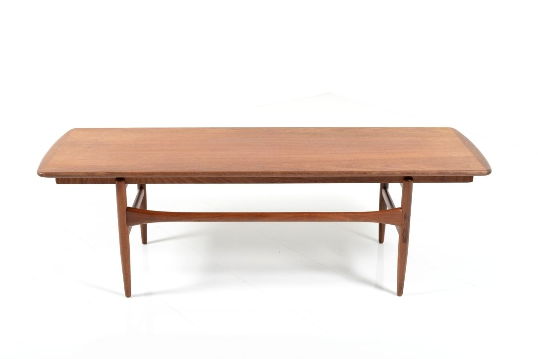 Extendable teak and formica coffee table 1950s for sale at pamono Formica coffee table