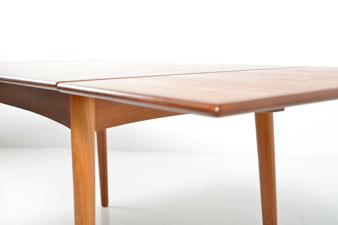 Extendable Teak Dining Table 1960s for sale at Pamono