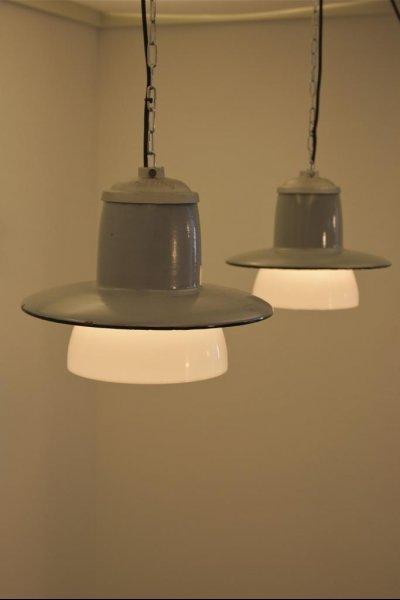 vintage emaille lampen von philips bei pamono kaufen. Black Bedroom Furniture Sets. Home Design Ideas