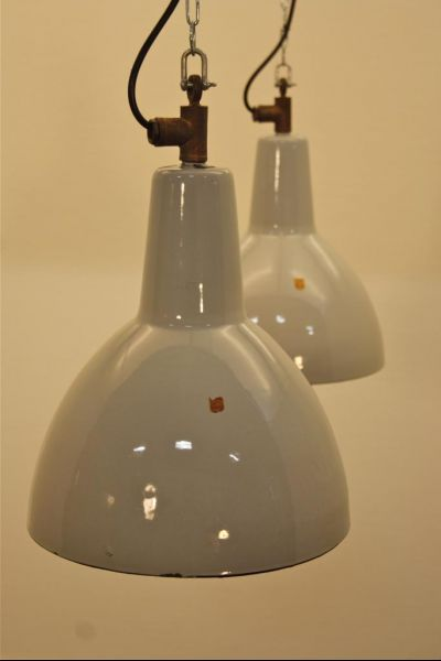 Zwei industrial lampen von philips bei pamono kaufen for Lampen industrial