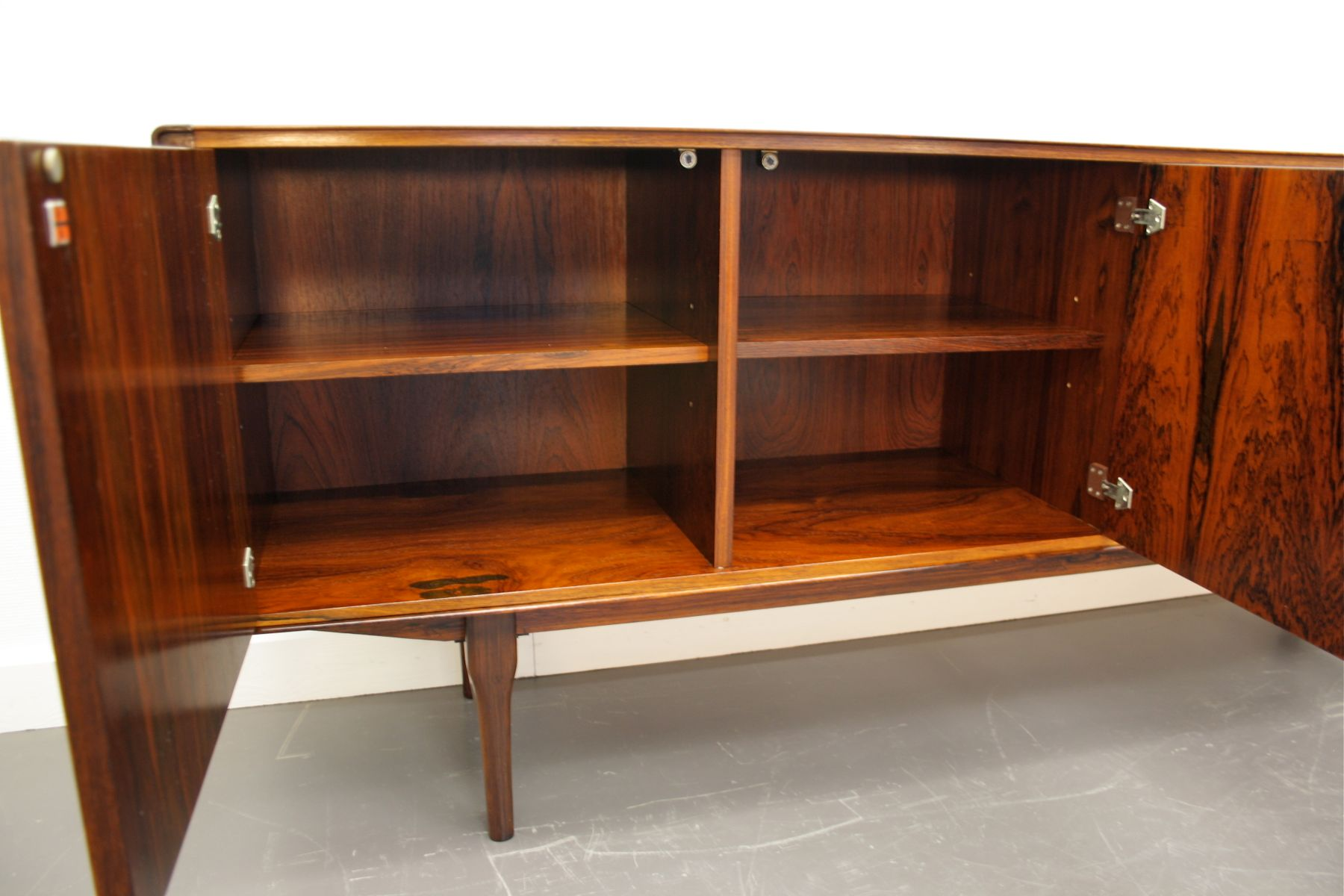 palisander sideboard von fristho franeker 1960er bei. Black Bedroom Furniture Sets. Home Design Ideas