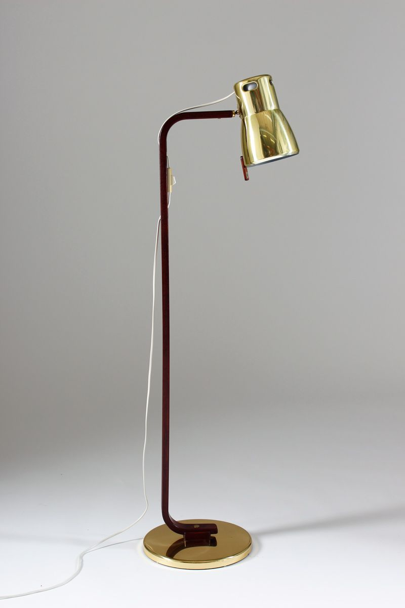 mid century floor lamp by hans agne jakobsson for markaryd for sale at. Black Bedroom Furniture Sets. Home Design Ideas
