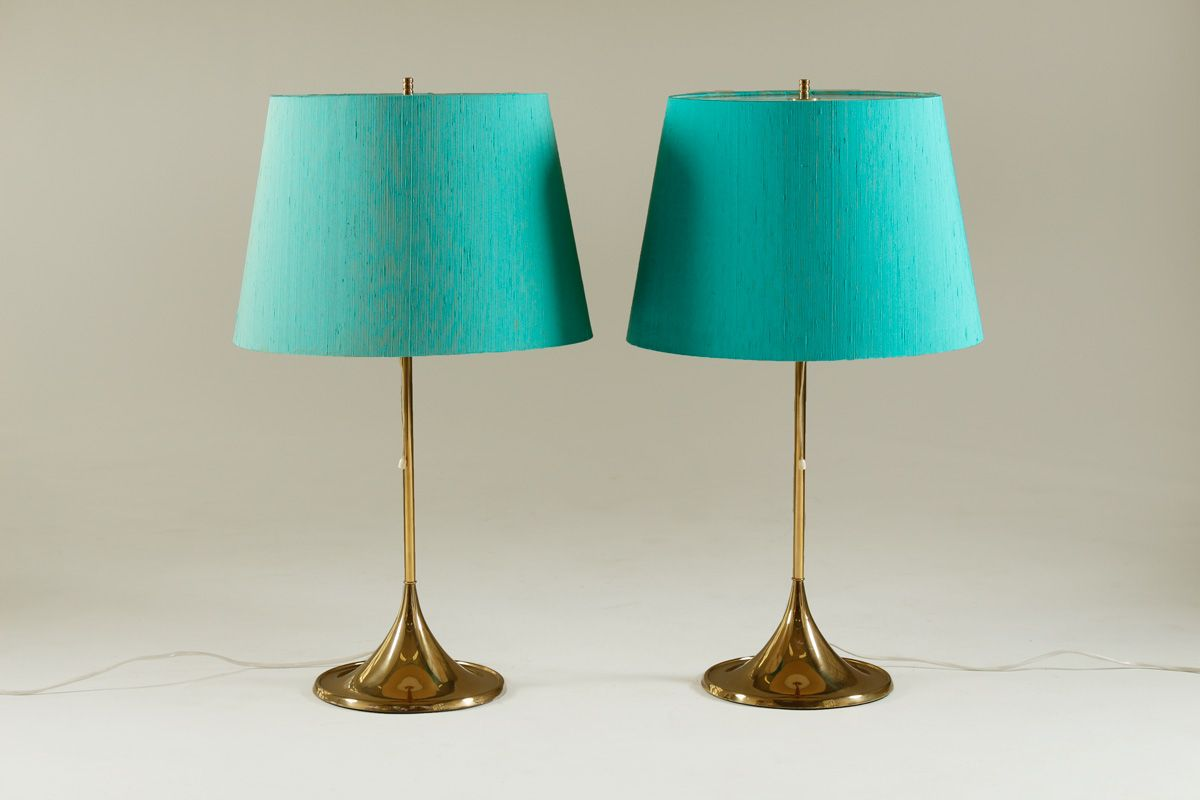 table lamps from bergboms set of 2 for sale at pamono. Black Bedroom Furniture Sets. Home Design Ideas