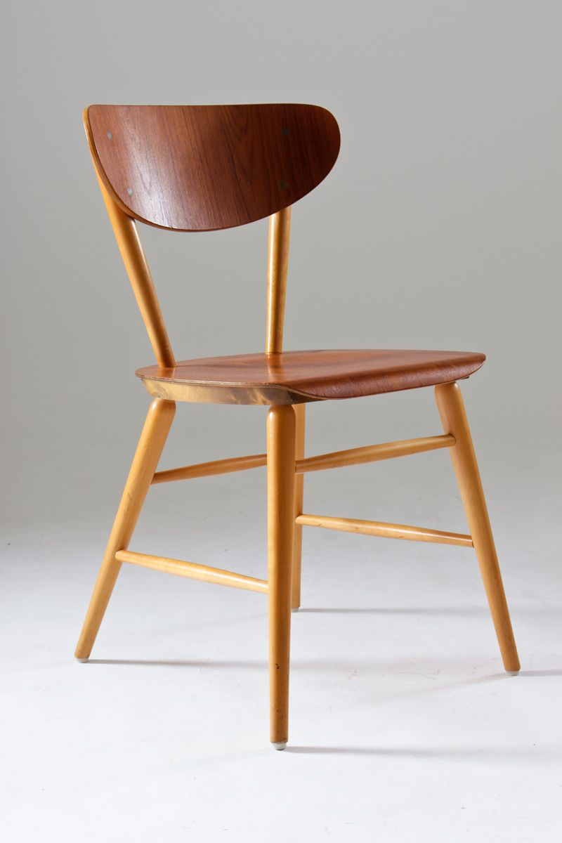 Teak Dining Chairs 1950s Set Of 4 For Sale At Pamono