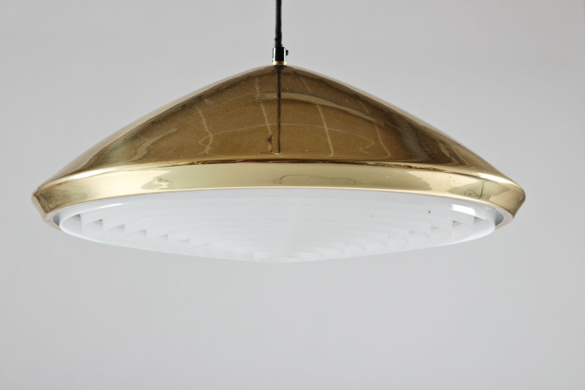 Brass Chandelier Ceiling Lights : Vintage brass ceiling light for sale at pamono