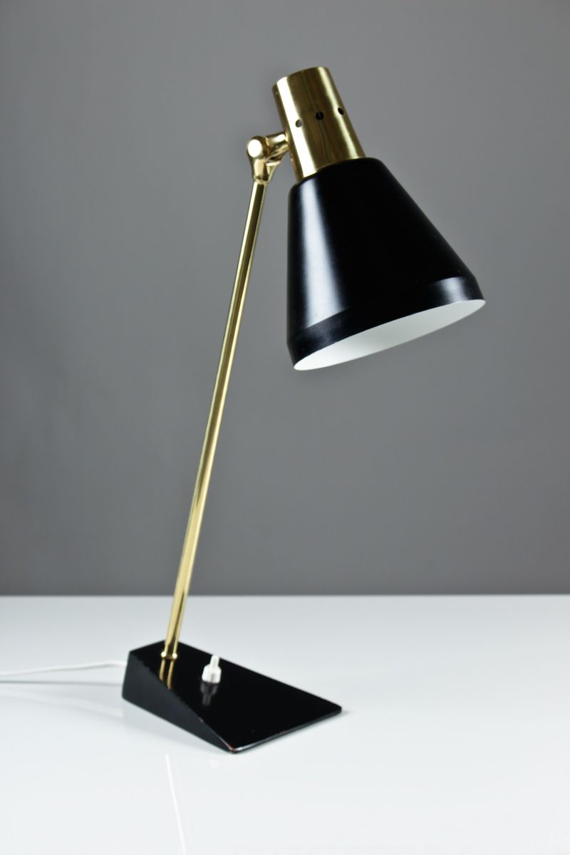 mid century swedish desk lamp for sale at pamono. Black Bedroom Furniture Sets. Home Design Ideas
