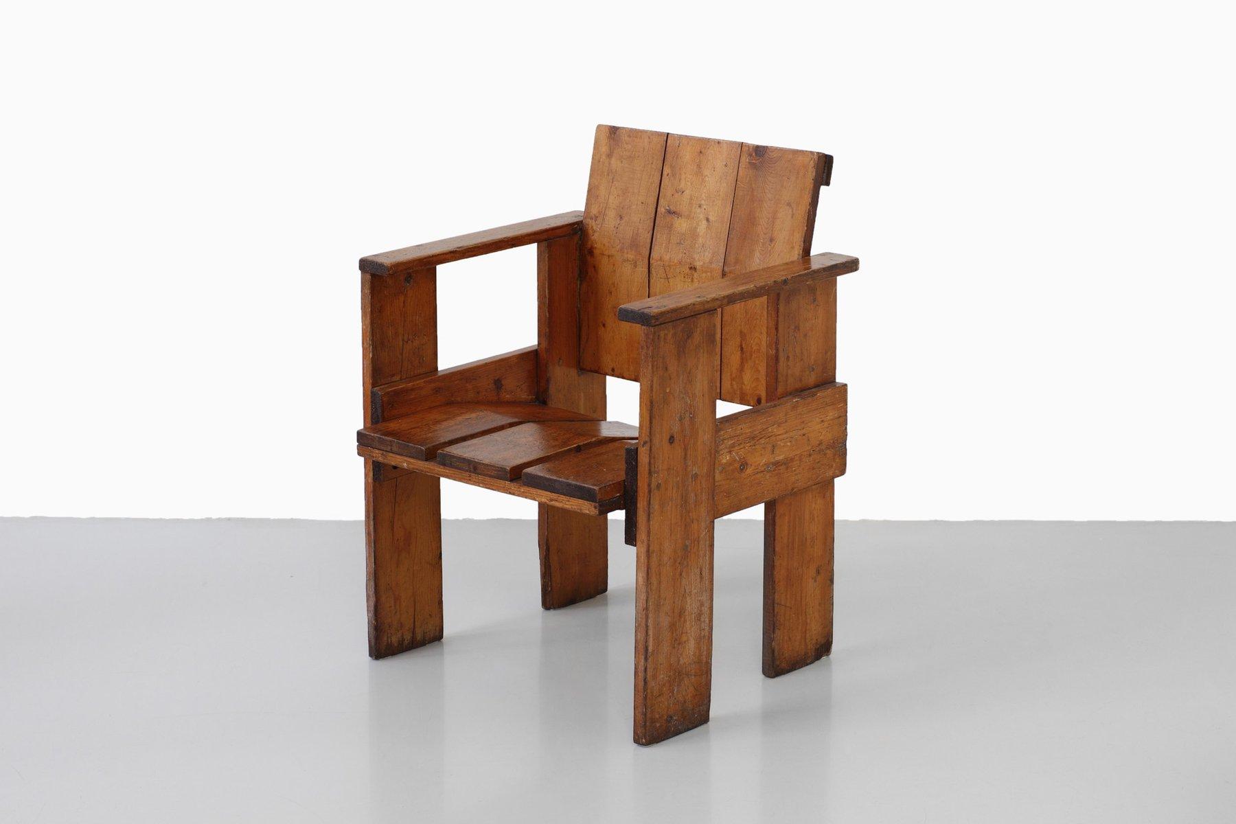 Albatros Chair by Gerrit Rietveld - PAMONO