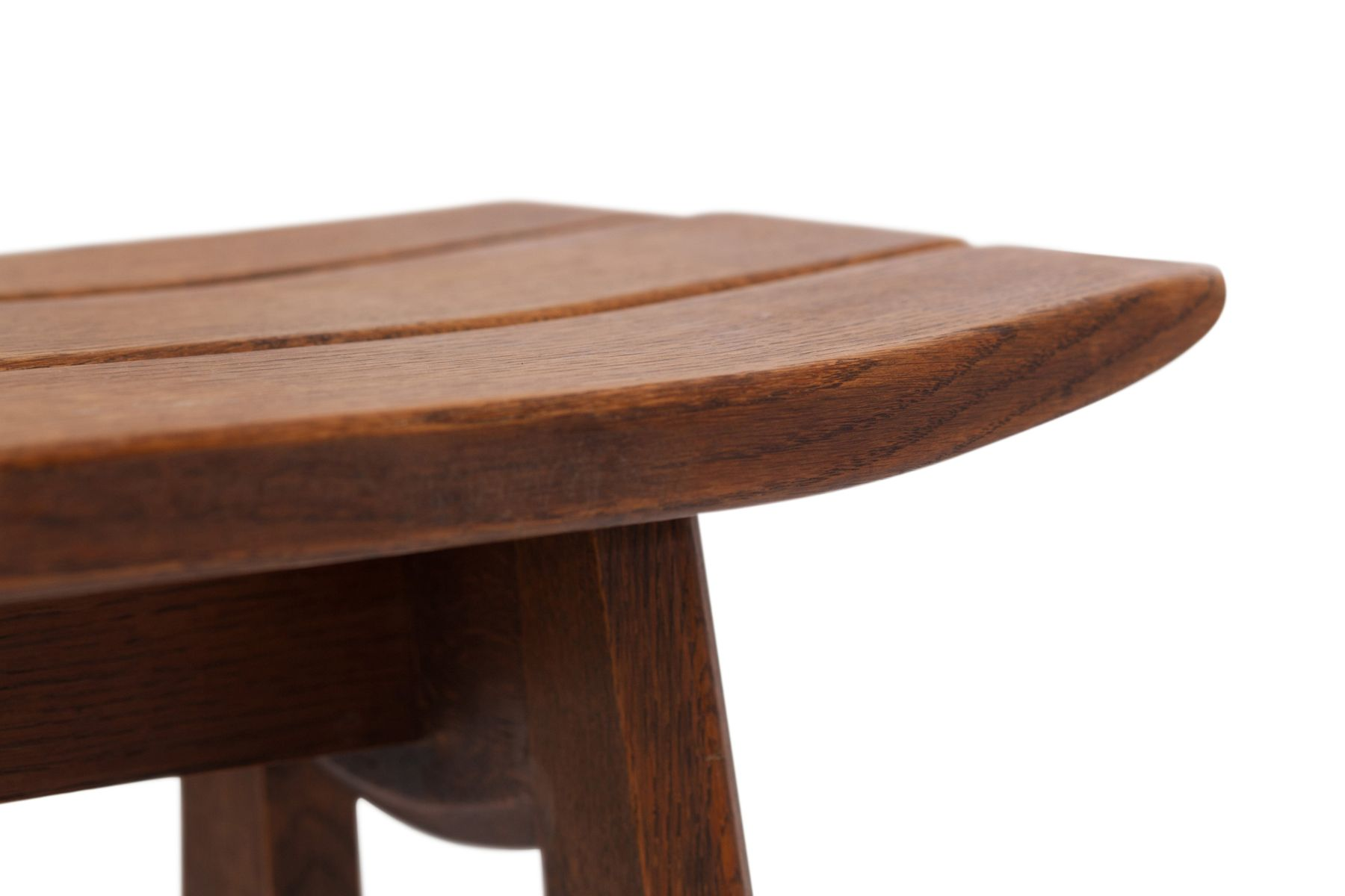 oak tabourets by guillerme chambron for votre maison. Black Bedroom Furniture Sets. Home Design Ideas