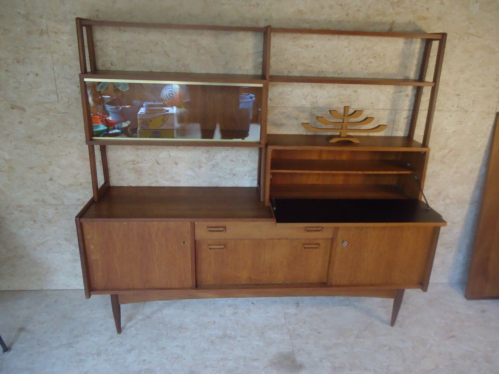 vintage dutch highboard for sale at pamono. Black Bedroom Furniture Sets. Home Design Ideas