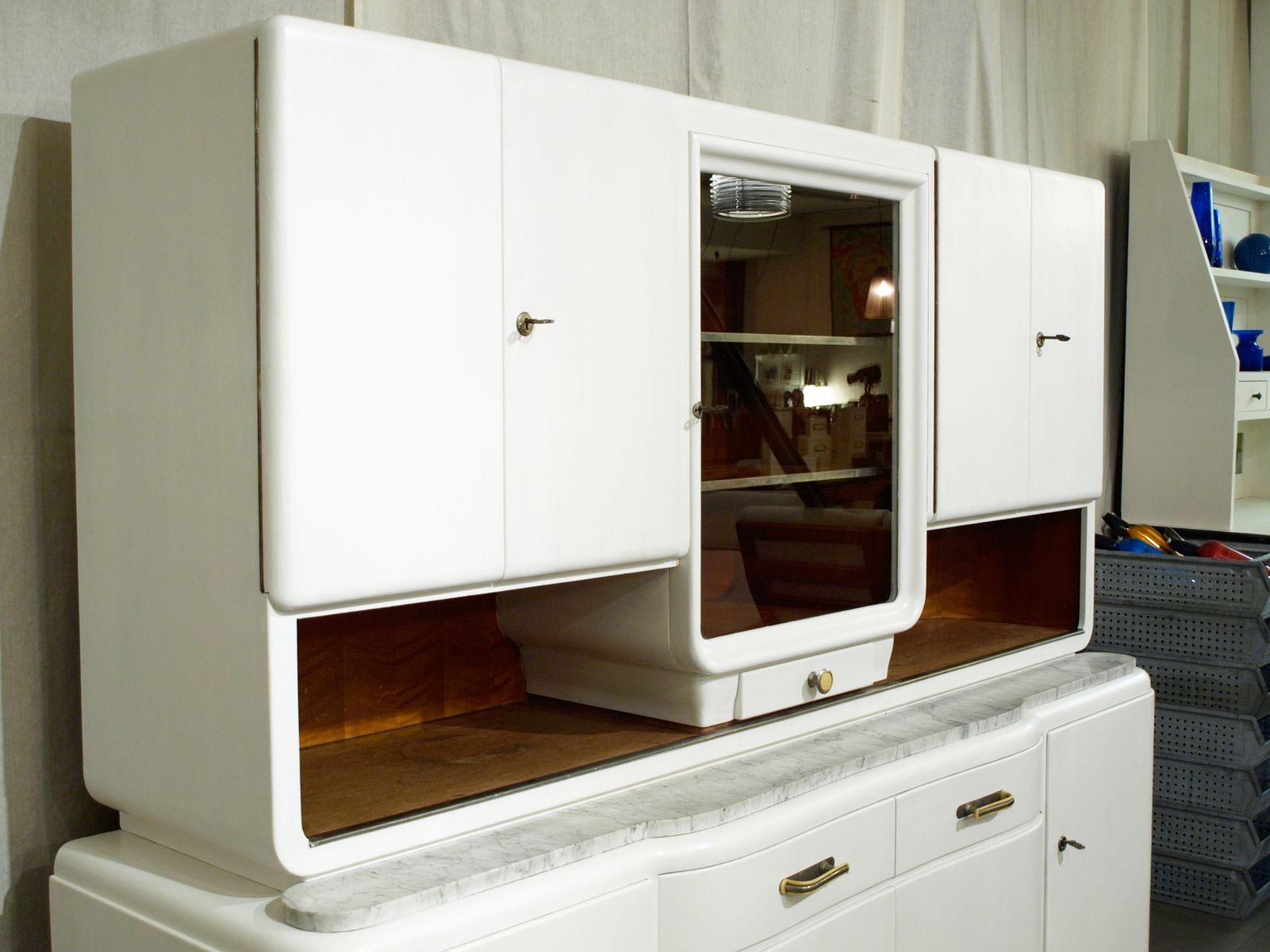 Vintage kitchen cabinet by niestrath 1930s for sale at pamono for 1930s kitchen cabinets for sale