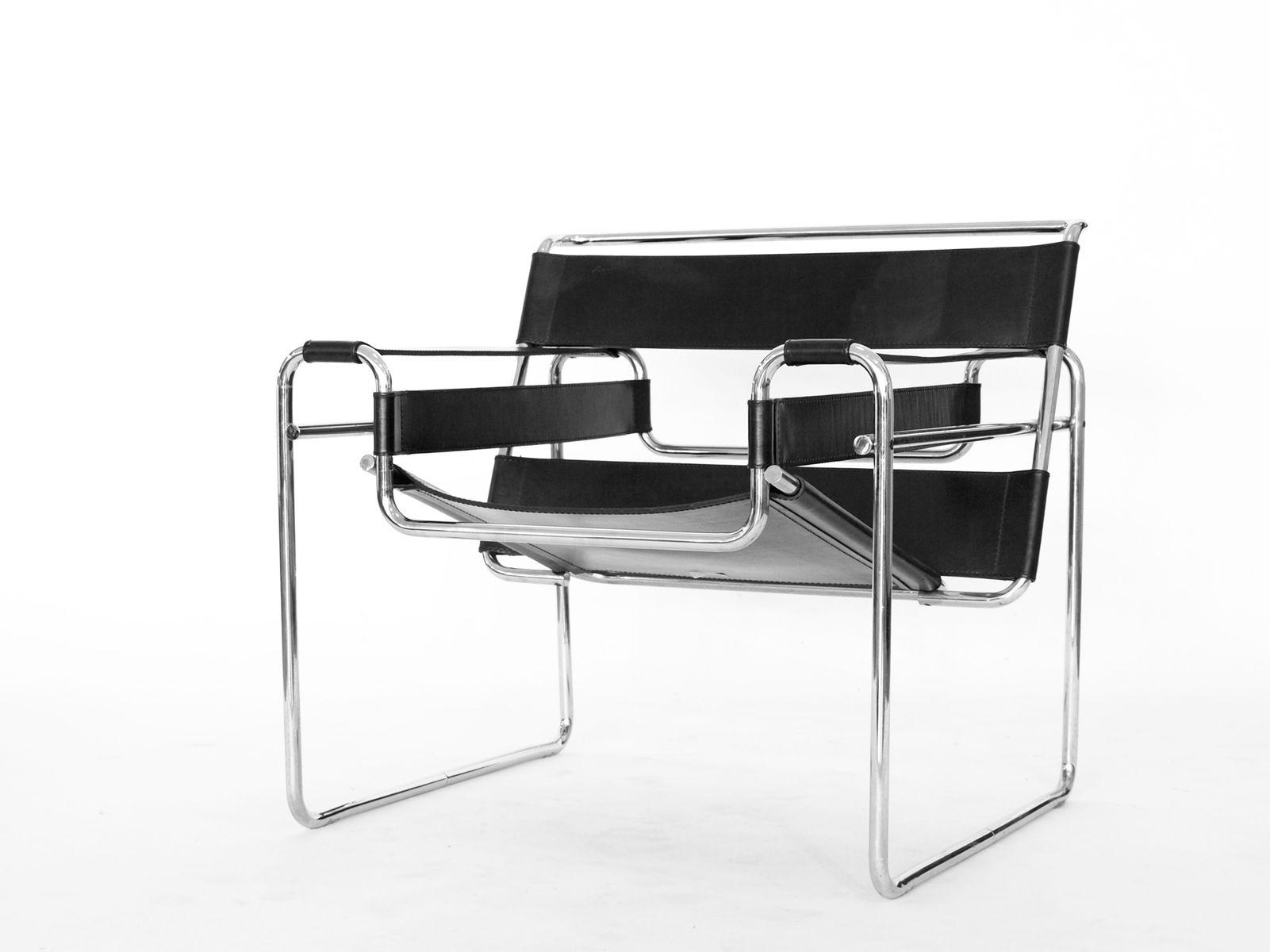 wassily chair von marcel breuer f r gavina 1960er. Black Bedroom Furniture Sets. Home Design Ideas