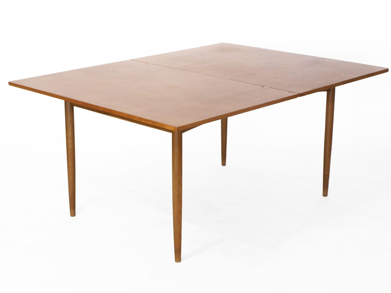 Scandinavian teak folding dining table for sale at pamono - Dining table scandinavian ...