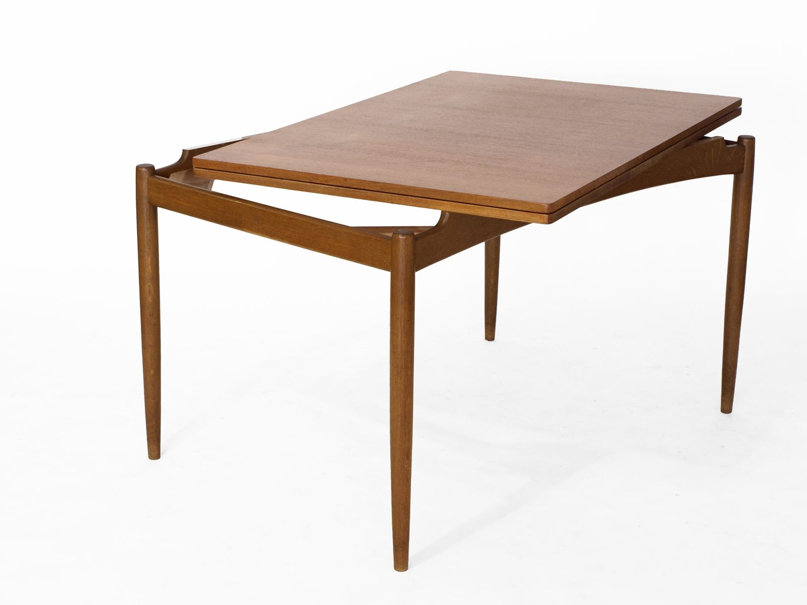 Scandinavian Teak Folding Dining Table For Sale At Pamono