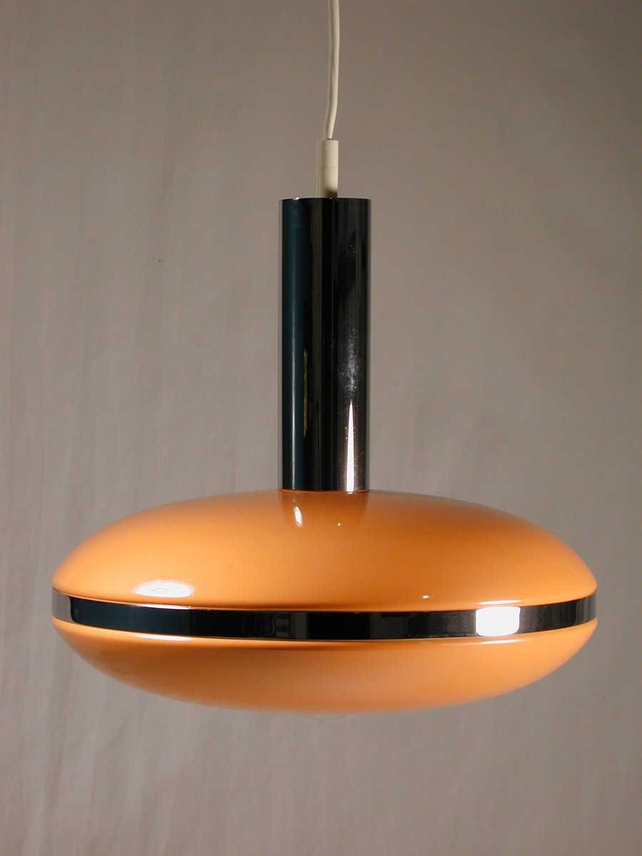 space age ufo pendant lamp 1970s for sale at pamono. Black Bedroom Furniture Sets. Home Design Ideas