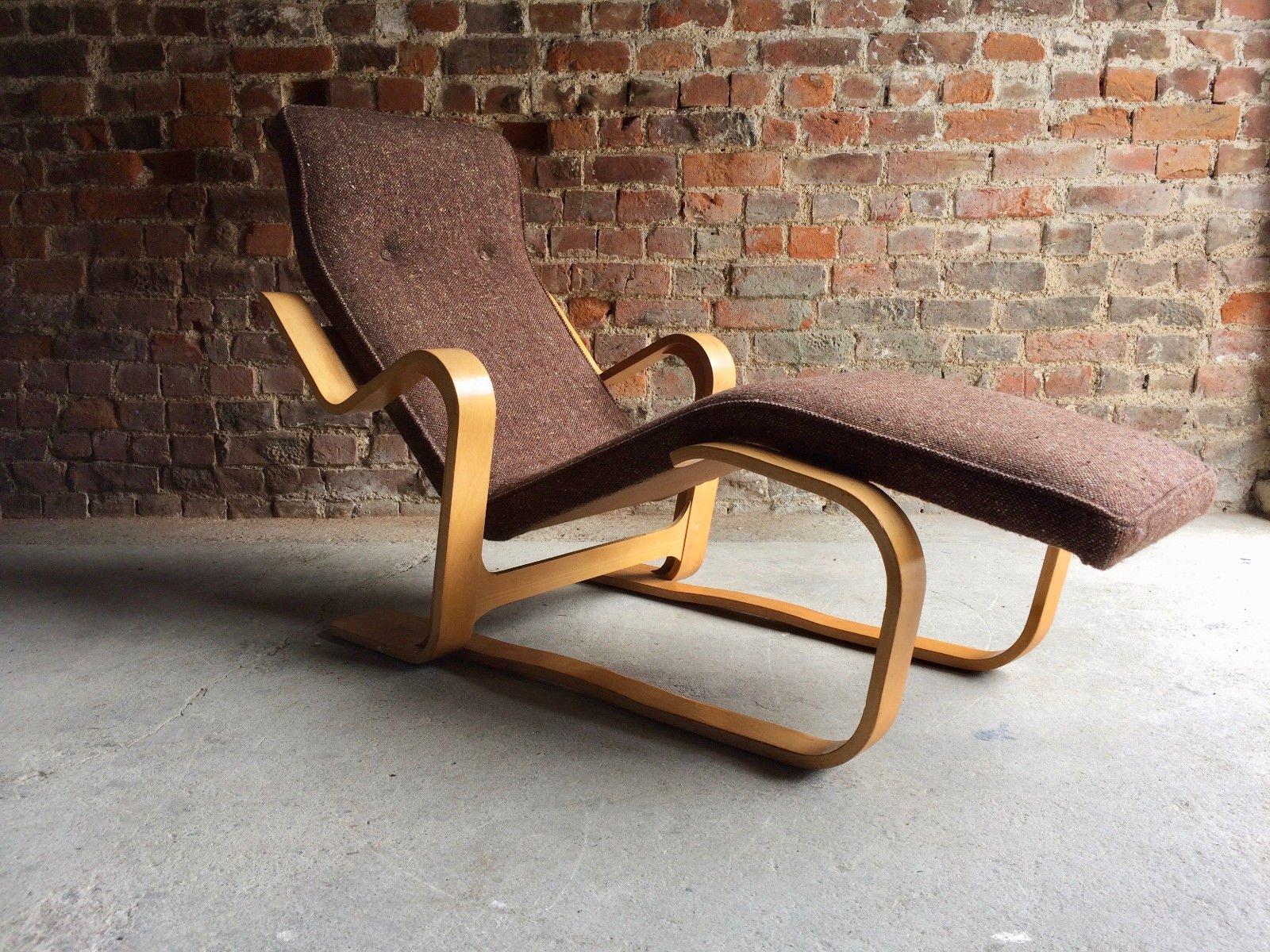 bauhaus chaise lounge von marcel breuer f r knoll 1970er. Black Bedroom Furniture Sets. Home Design Ideas