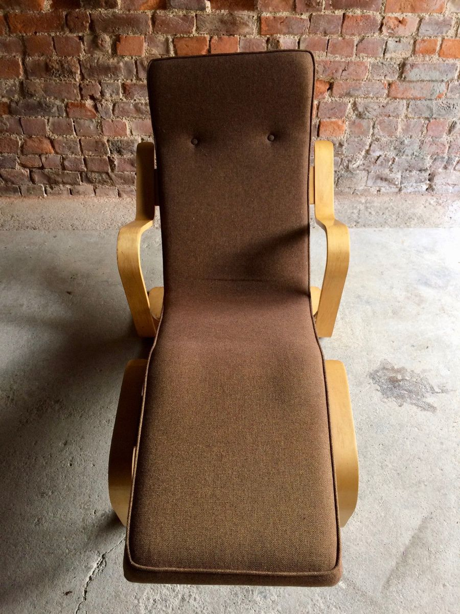 Mid century long chair by marcel breuer 1970s for sale at for Chaise longue for sale ireland