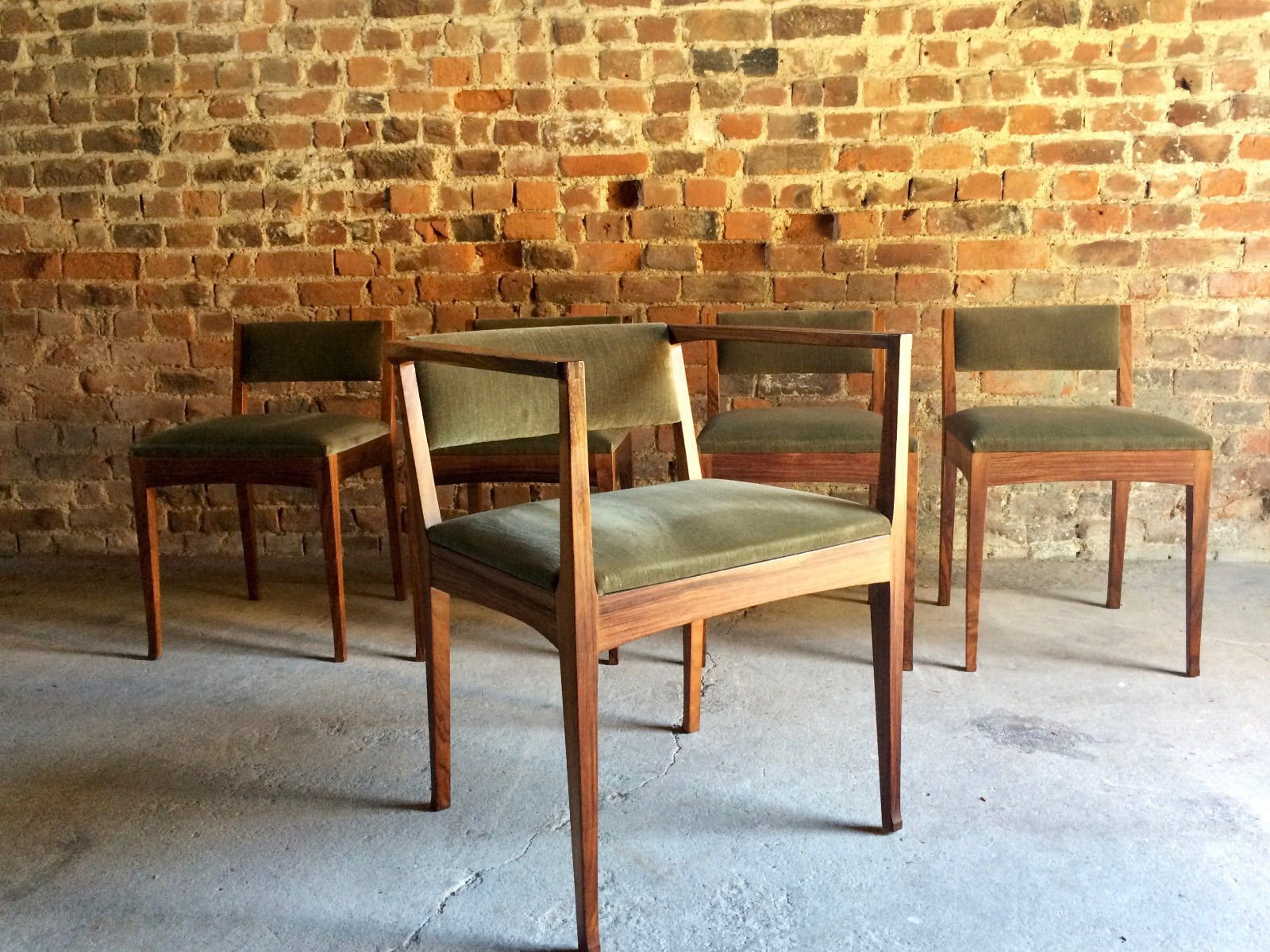 Dining Chairs from Edward Barnsley 1978 Set of 5 for sale at Pamono