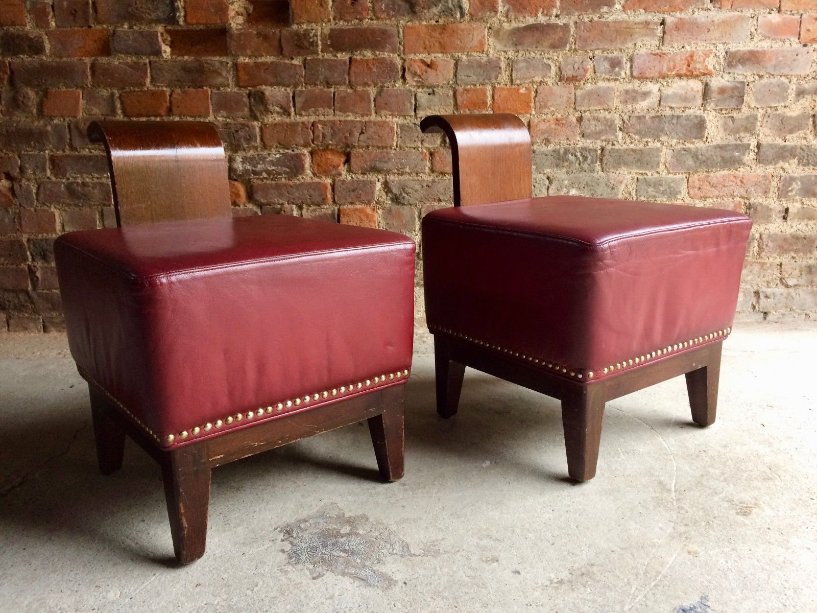 French Art Deco Cocktail Chairs Set of 2 for sale at Pamono