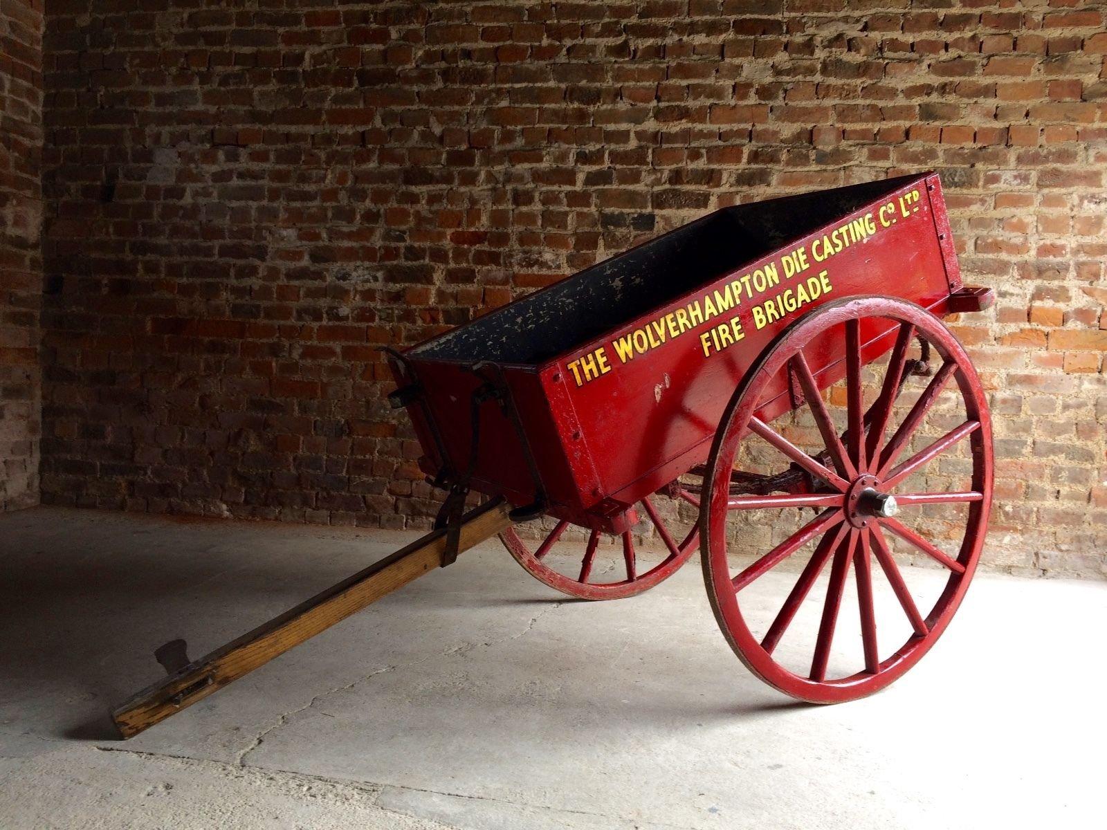 vintage hand cart