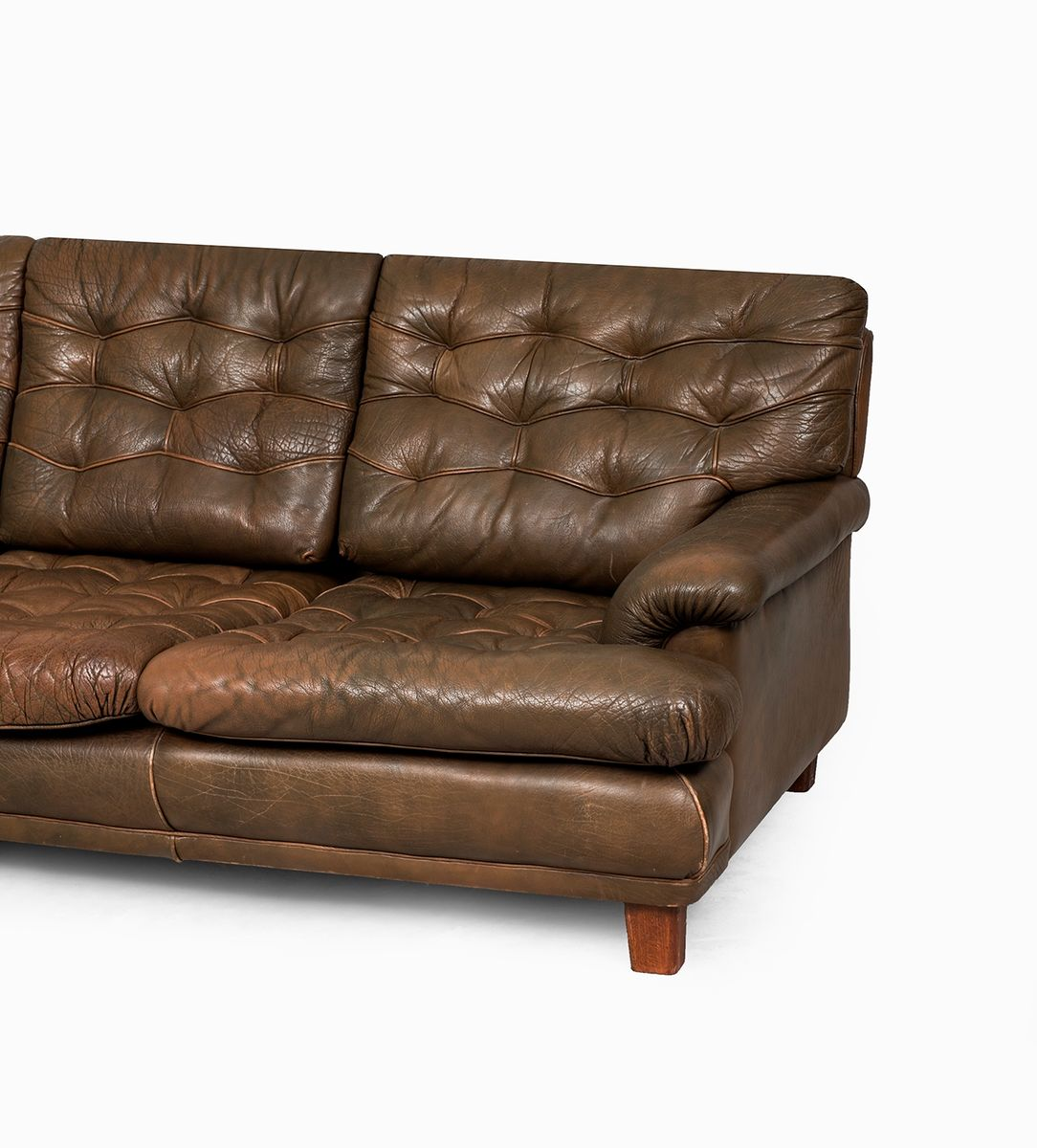 3 sitzer sofa von arne norell f r arne norell ab schweden 1960er bei pamono kaufen. Black Bedroom Furniture Sets. Home Design Ideas