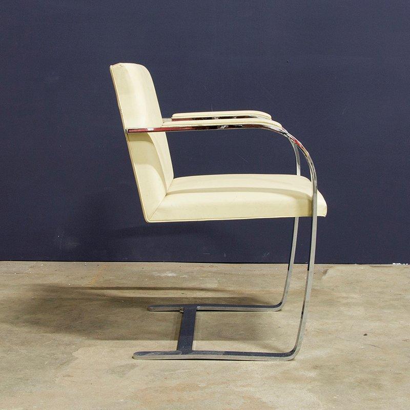 Brno flat base chair von ludwig mies van der rohe 1930er bei pamono kaufen - Mies van der rohe sedia ...