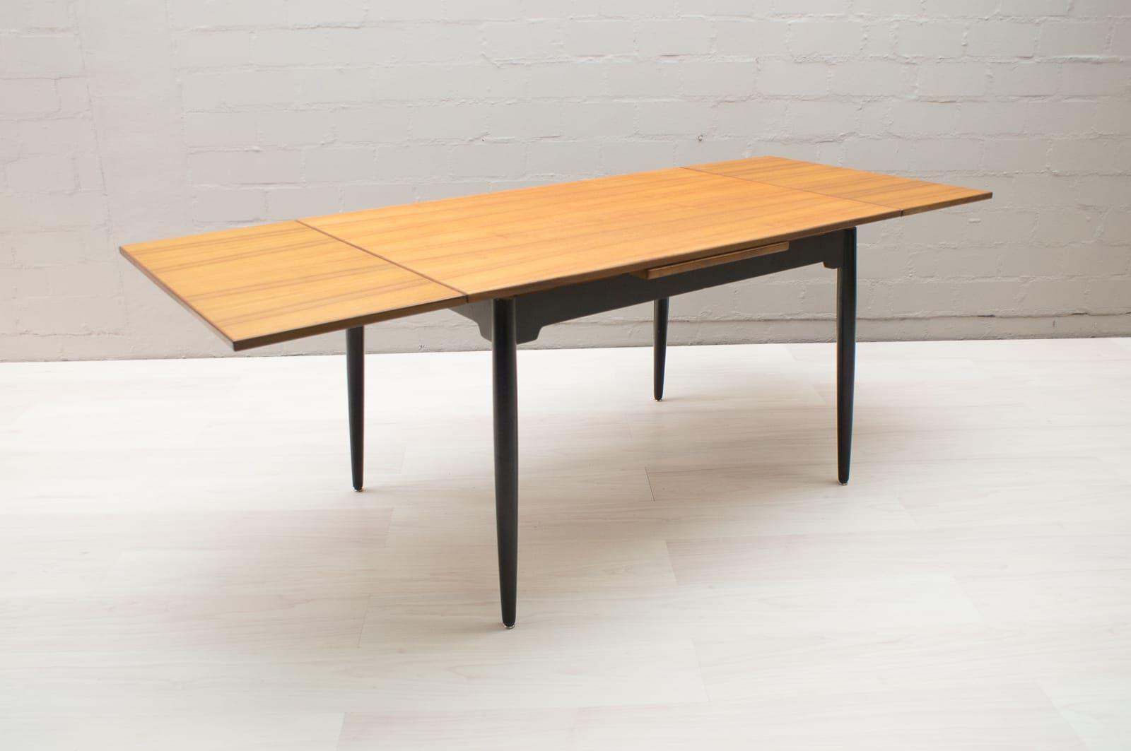 verstellbarer fanett esstisch von ilmari tapiovaara f r asko 1960er bei pamono kaufen. Black Bedroom Furniture Sets. Home Design Ideas