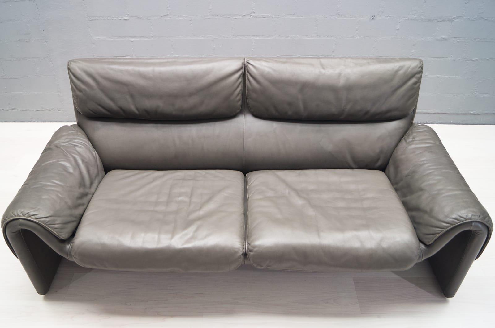 vintage modell ds 2011 ledersofa von de sede bei pamono kaufen. Black Bedroom Furniture Sets. Home Design Ideas