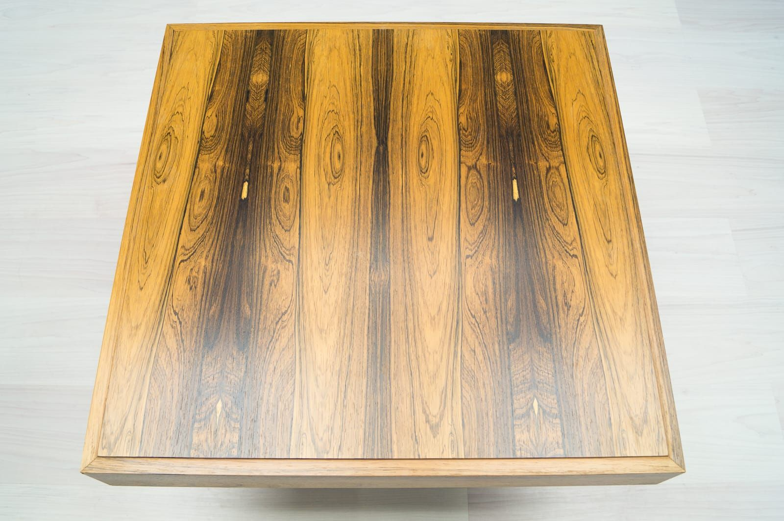 Sanders Nürnberg square rosewood side table 1960s for sale at pamono