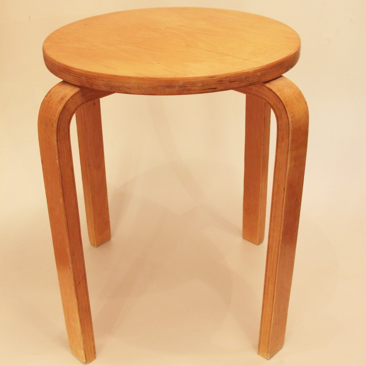 E60 Stool By Alvar Aalto For Artek For Sale At Pamono