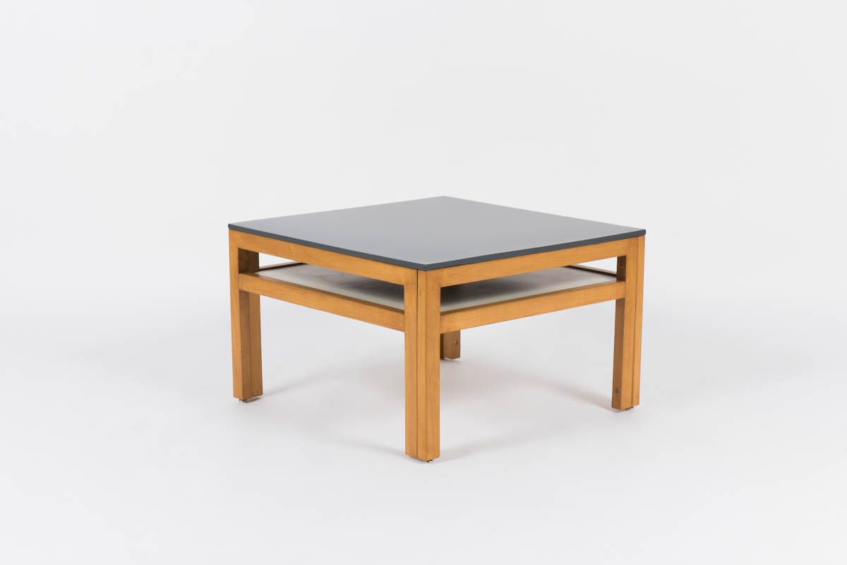 Dark Grey Coffee Table By Andr Sornay 1950s For Sale At Pamono