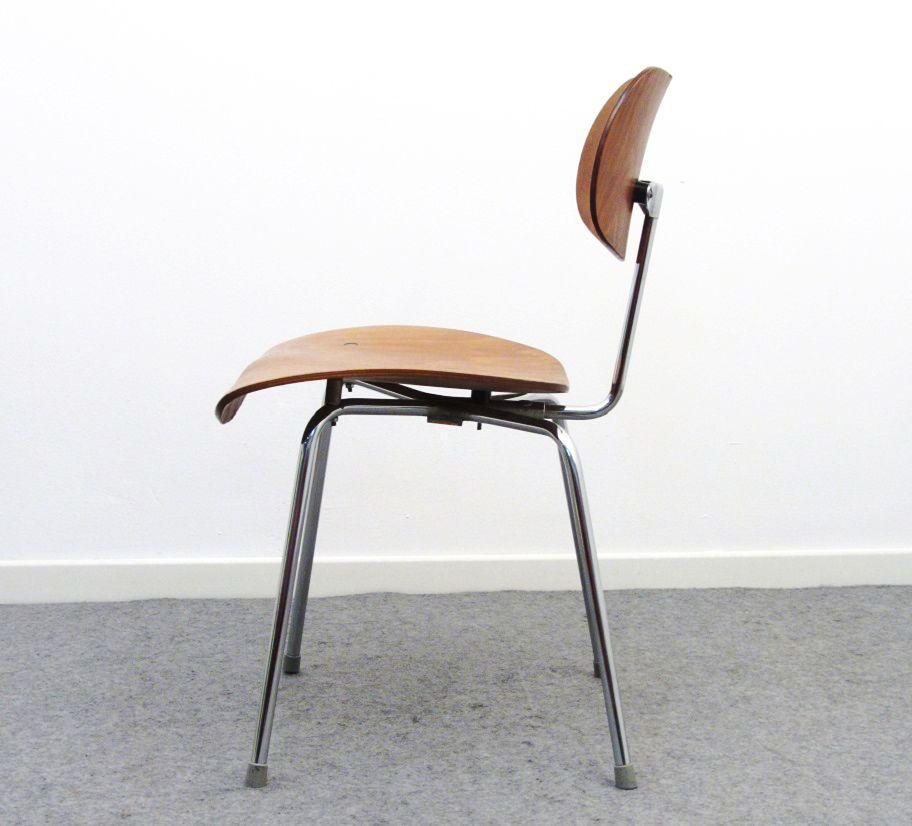 se68 stuhl von egon eiermann f r wilde spieth 1950er. Black Bedroom Furniture Sets. Home Design Ideas