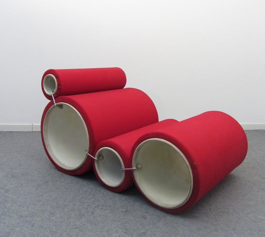 Tube Chair By Joe Colombo For Flexform For Sale At Pamono - Tube chair