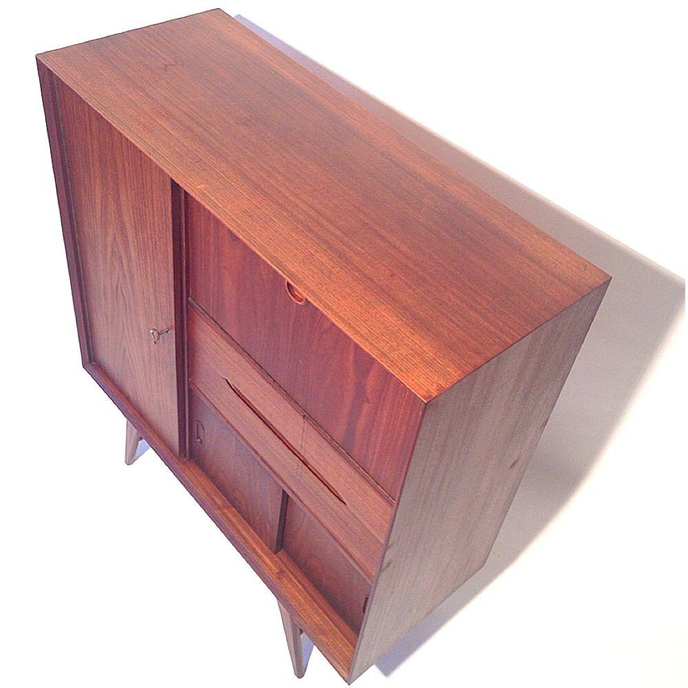mid century teak sekret r von w b bei pamono kaufen. Black Bedroom Furniture Sets. Home Design Ideas