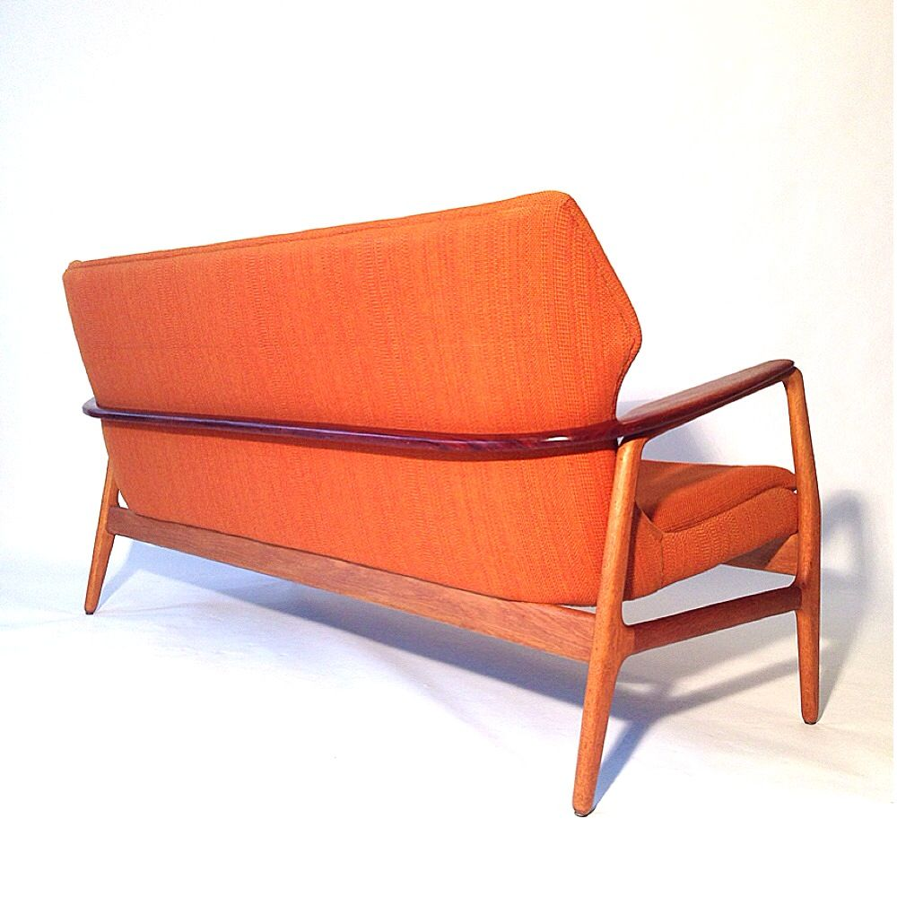 Mid century sofa by aksel bender madsen for bovenkamp for for Mid century sectional sofa for sale