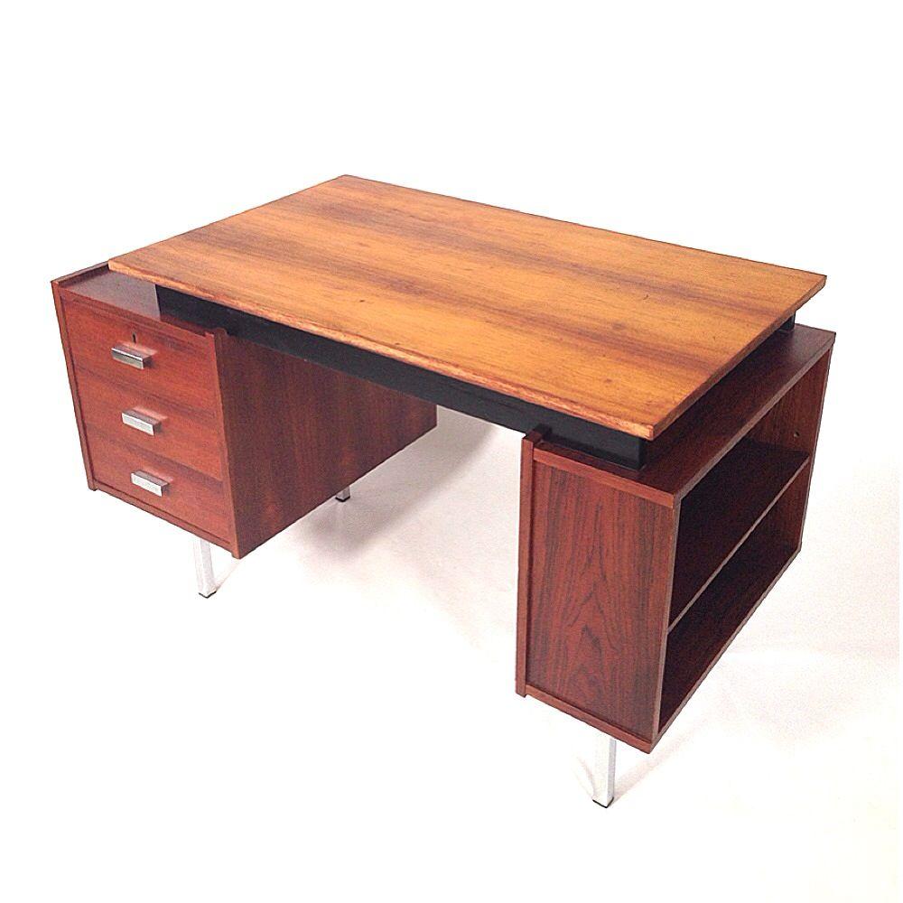 palisander schreibtisch von fristho 1960er bei pamono kaufen. Black Bedroom Furniture Sets. Home Design Ideas