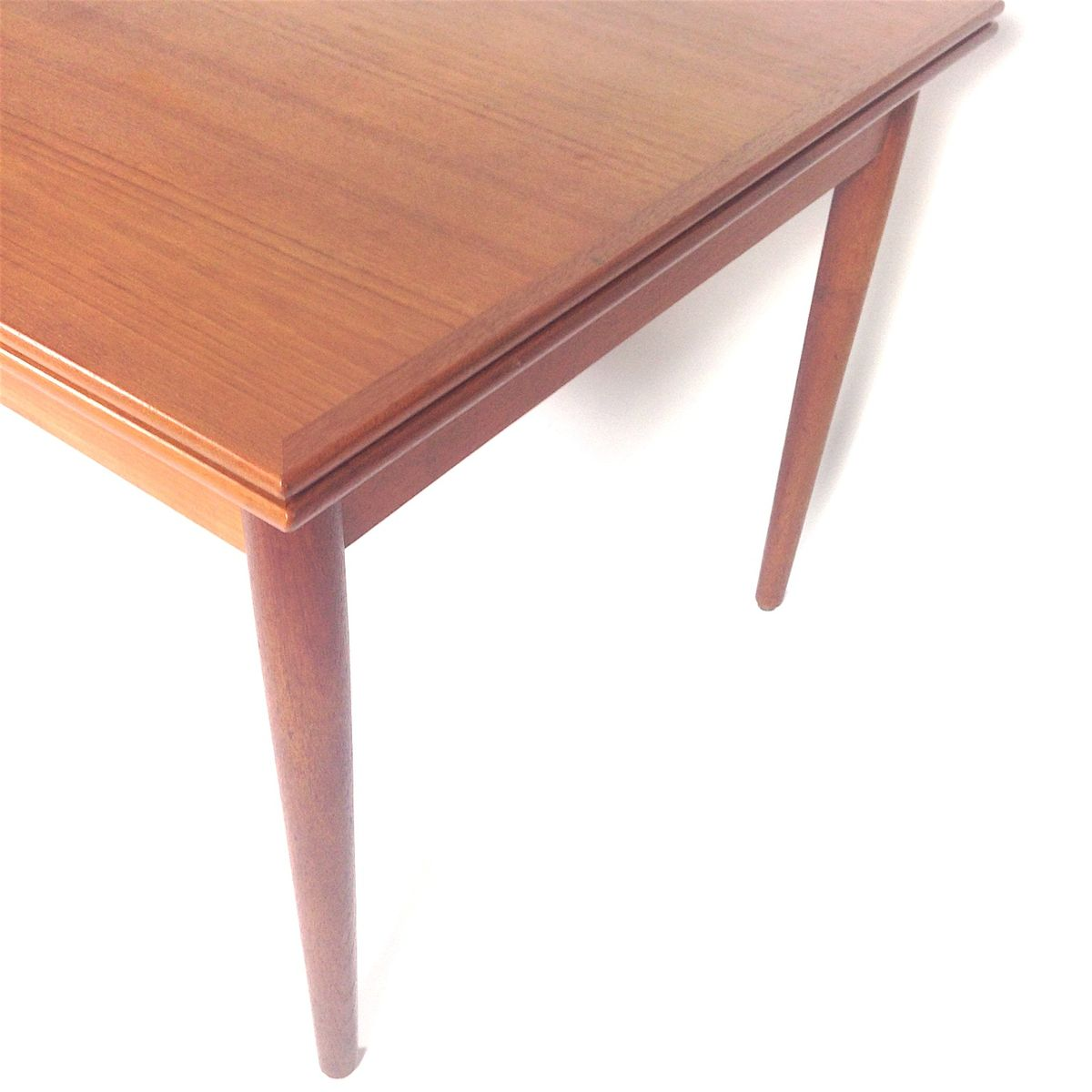 Extendable Teak Dining Table from Hornslet M248belfabrik  : extendable teak dining table from hornslet mobelfabrik 1950s 6 from www.pamono.co.uk size 1200 x 1200 jpeg 67kB