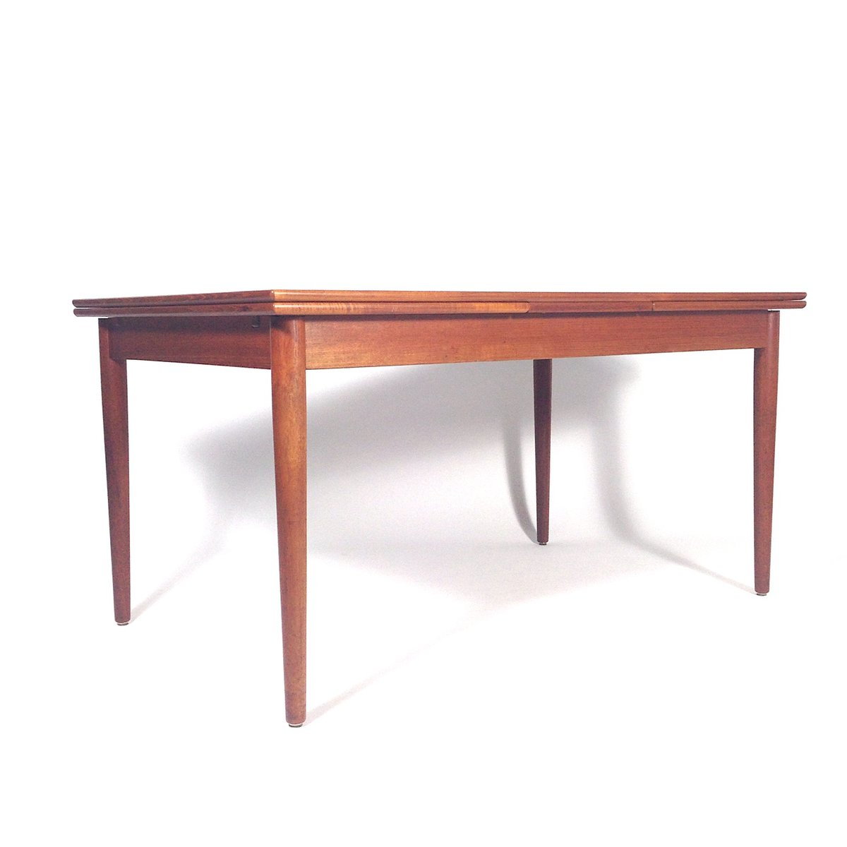 Extendable Teak Dining Table From Hornslet M Belfabrik 1950s For Sale At Pamono