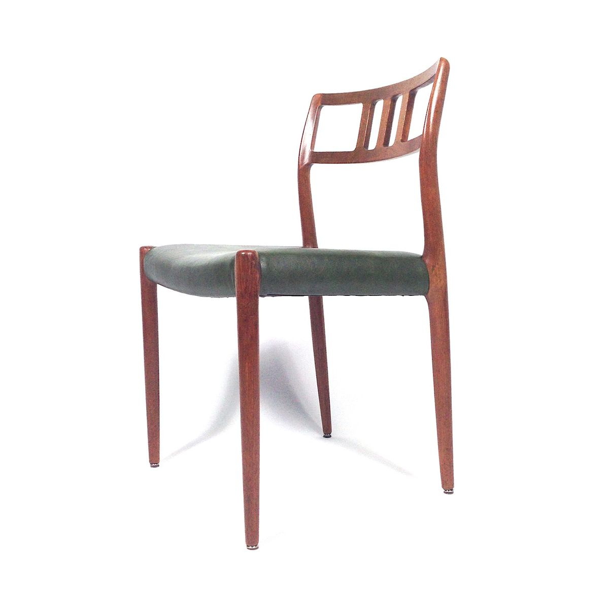 Model 79 Dining Chairs By Niels Otto Moller For JL Moller Mobelfabrik Set Of