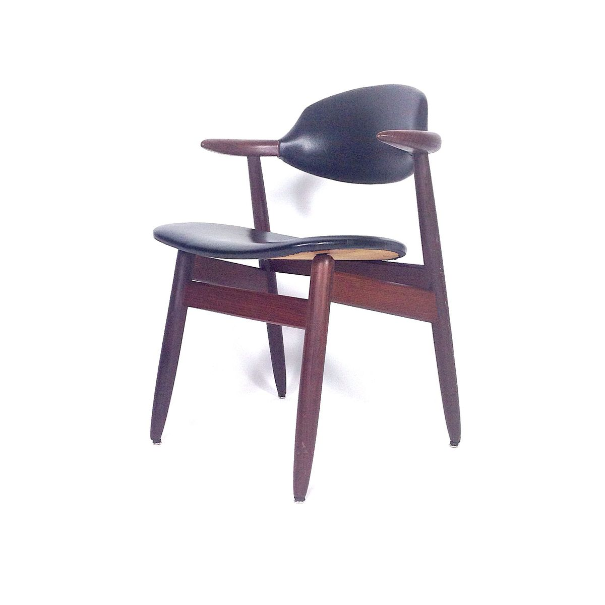 Cowhorn Dining Chairs By Tijsseling For Hulmefa Set Of 4 For Sale At Pamono