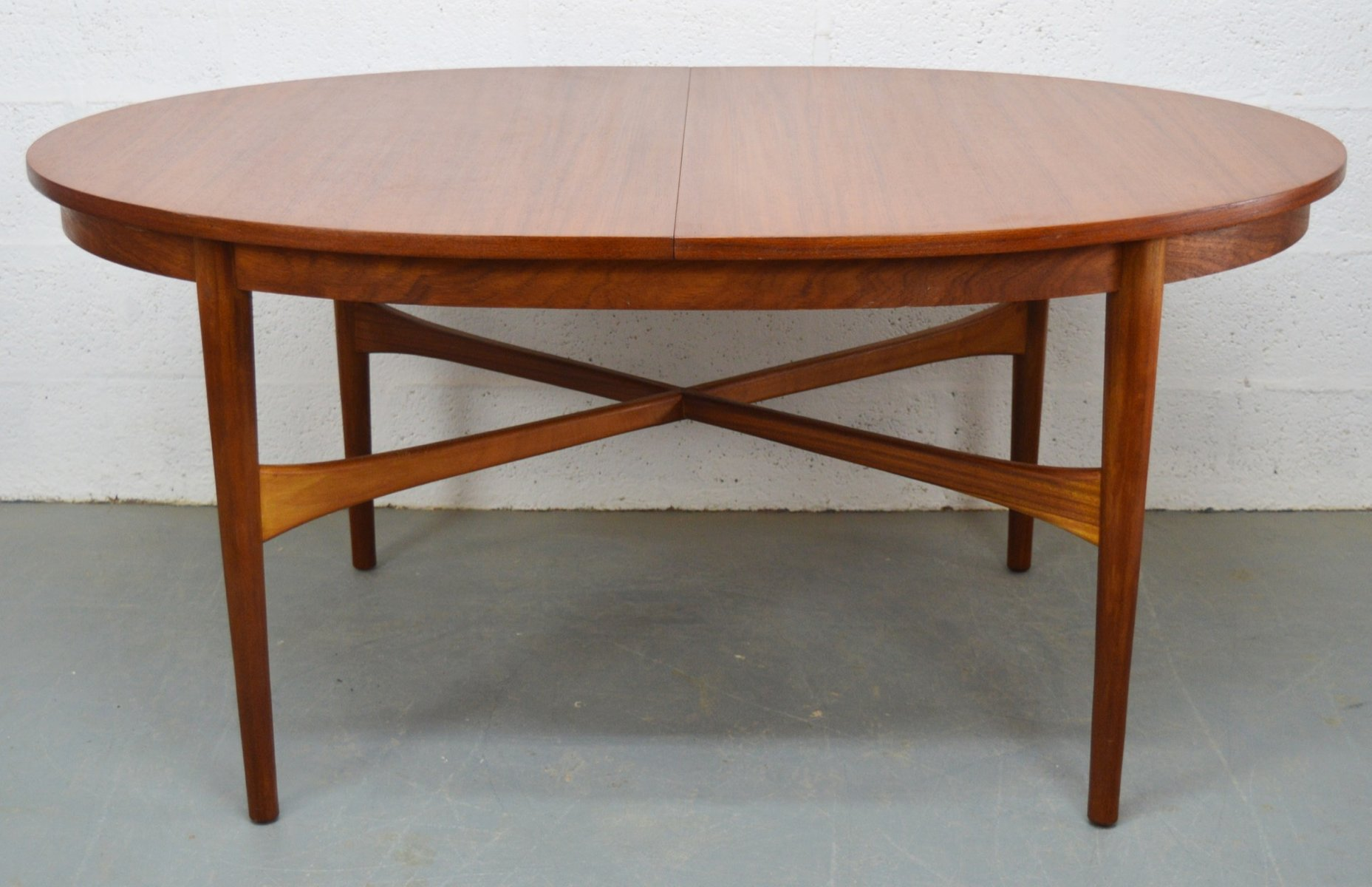 Mid Century Teak Extendable Oval Dining Table from  : mid century teak extendable oval dining table from beithcraft 8 from www.pamono.com.au size 1856 x 1200 jpeg 135kB