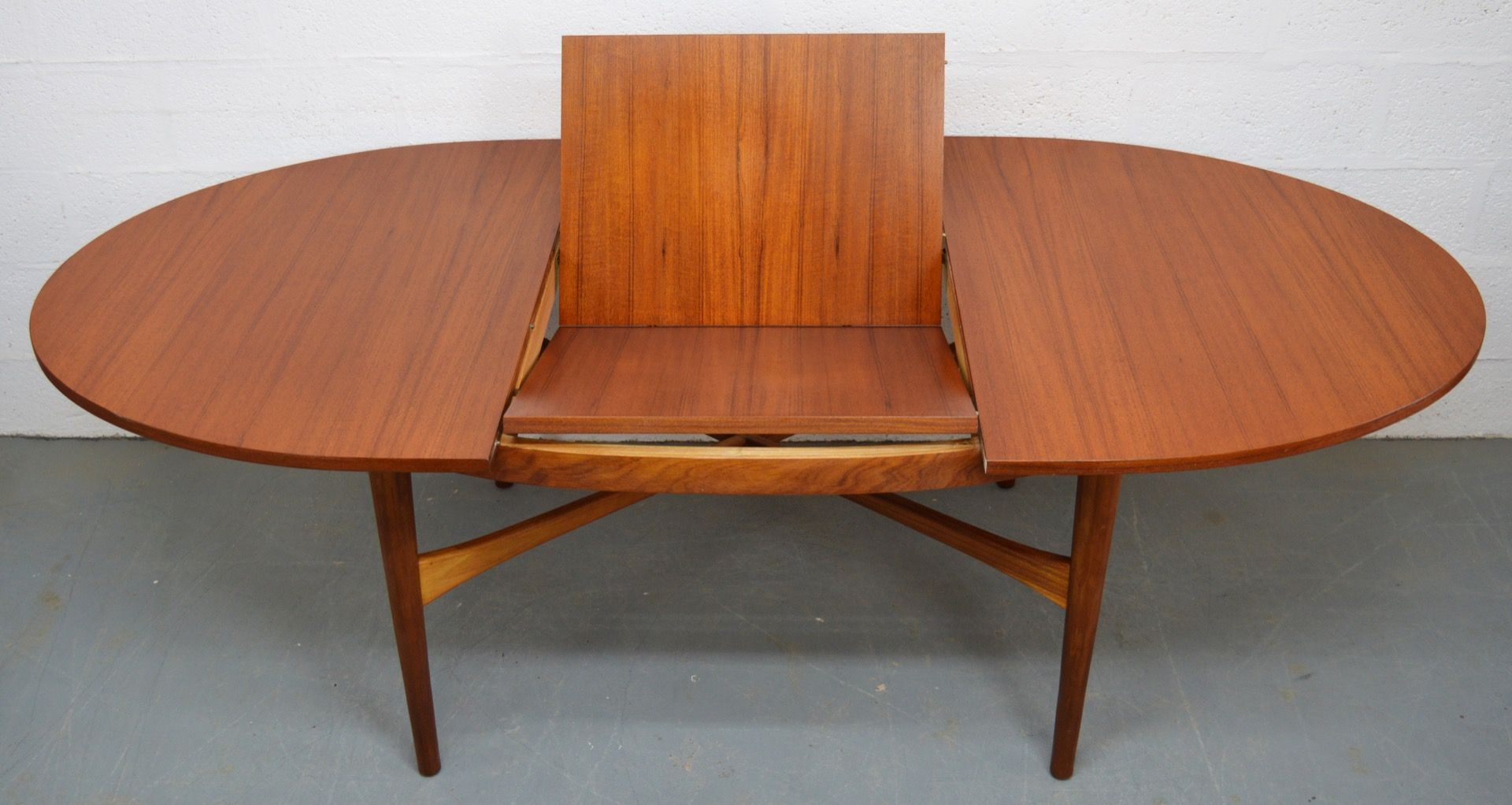Mid Century Teak Extendable Oval Dining Table from BeithcraftMid Century Teak Extendable Oval Dining Table from Beithcraft for  . Mid Century Teak Dining Table And Chairs. Home Design Ideas