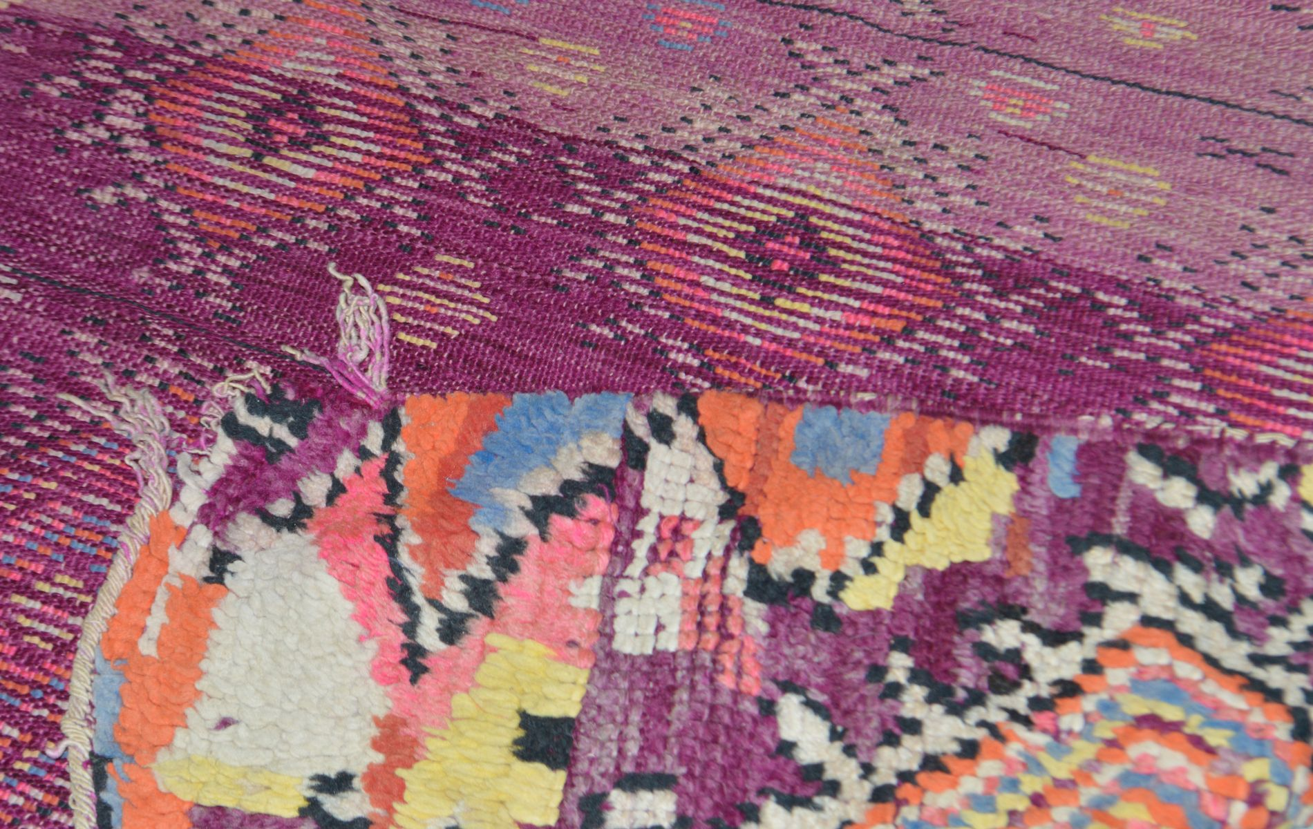 moroccan vintage rug 1950s for sale at pamono. Black Bedroom Furniture Sets. Home Design Ideas