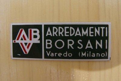 Roswood cabinet and bar by osvaldo borsani for arredamenti for Molteni arredamenti varedo