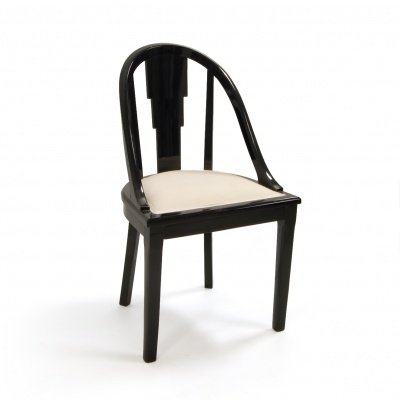 Vintage Black Dining Chair For Sale At Pamono
